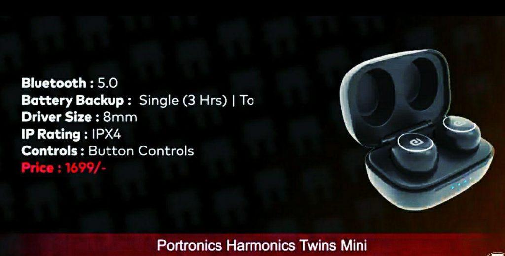 Portronics Harmonics Twins Mini