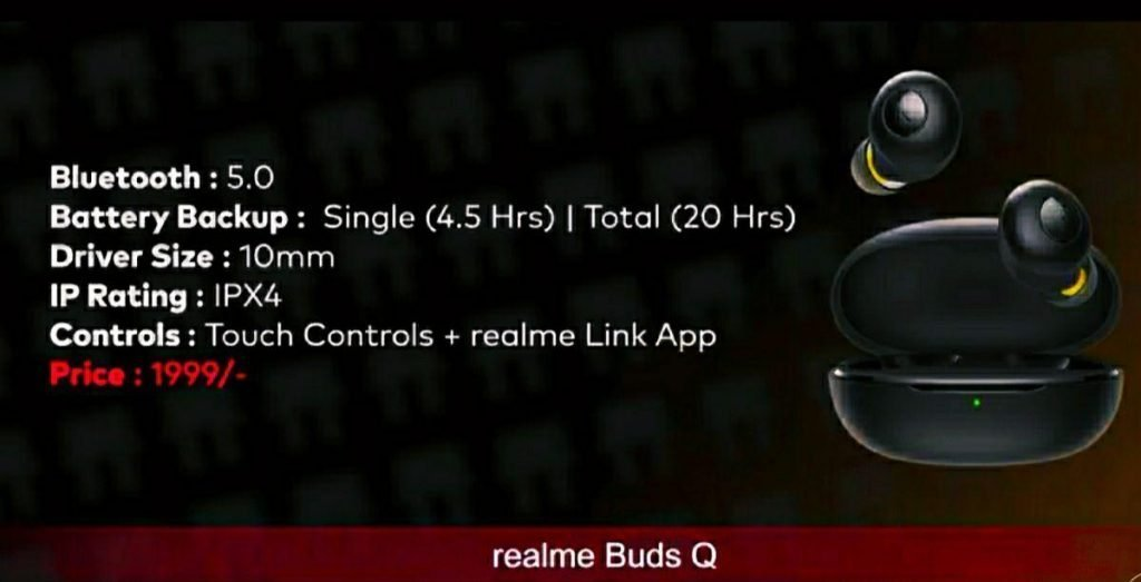 Realme Buds Q earbuds
